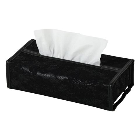 RETHEL TISSUE COVER BLACK