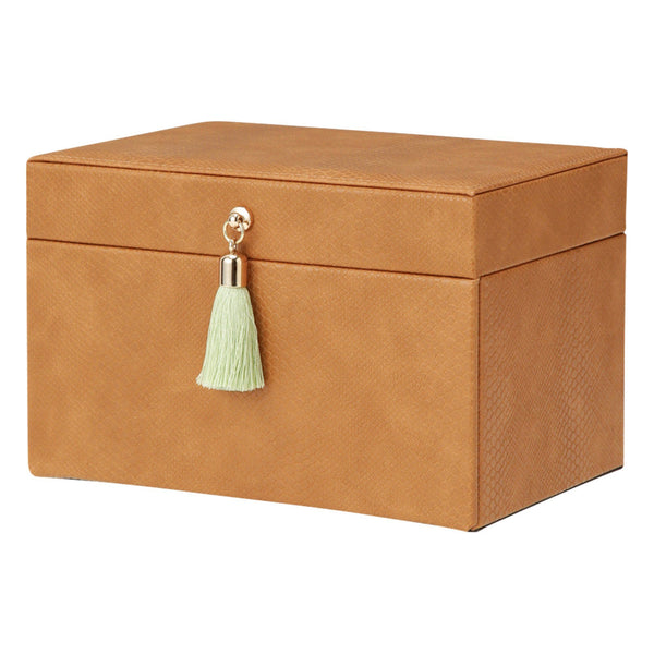 FLAVIA JEWELRY BOX SMALL BROWN