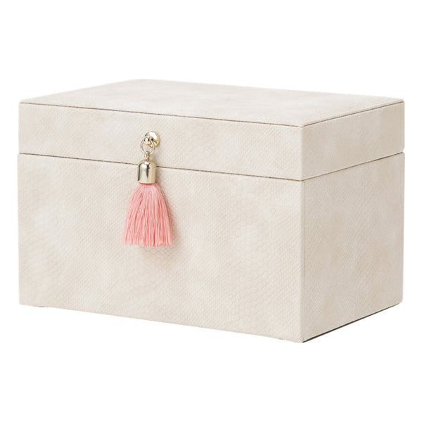 FLAVIA JEWELRY BOX SMALL IVORY