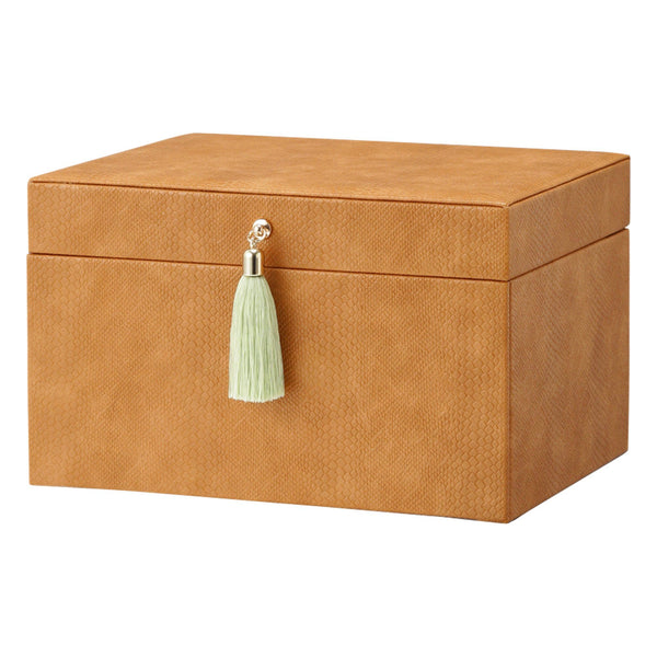 FLAVIA Jewelry Box Large Brown