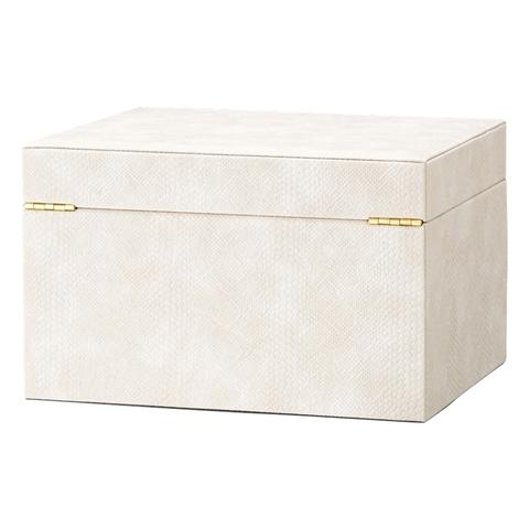 FLAVIA Jewelry Box Large Ivory