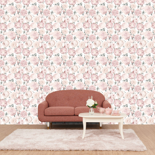 REMOVABLE WALL PAPER PEONY PK