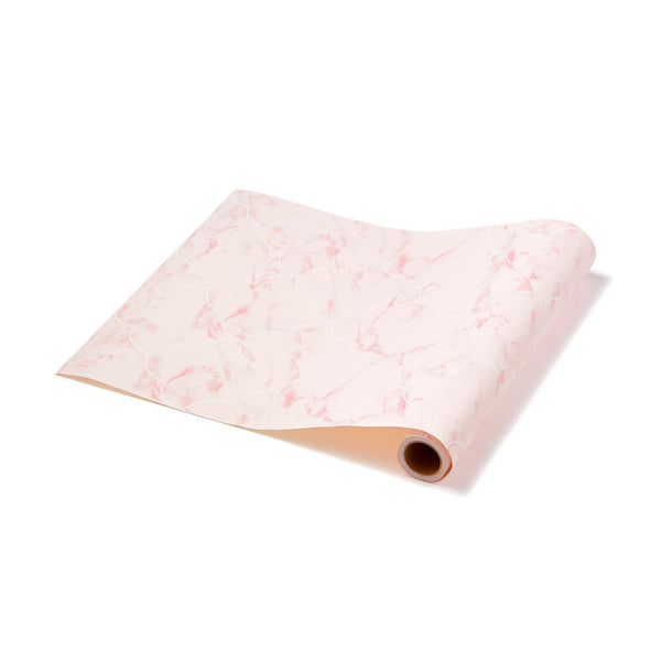REMOVABLE WALL PAPER MARBLE PINK