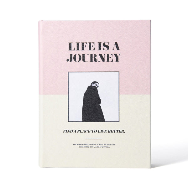 JOURNEY BOOK BOX MEDIUM PINK