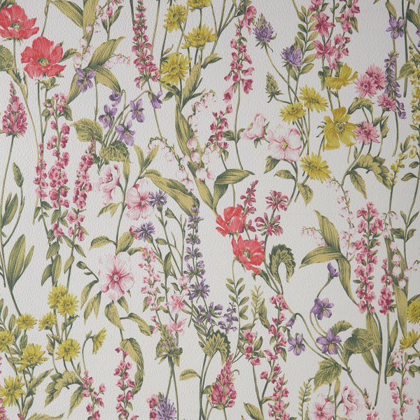 REMOVABLE WALLPAPER Bonique White