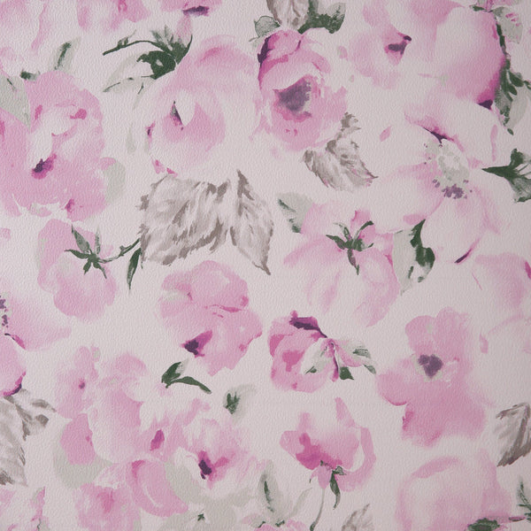 REMOVABLE WALLPAPER FLEUR PINK