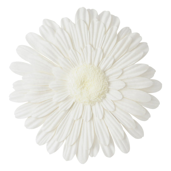WALL Flower Gerbera Small White