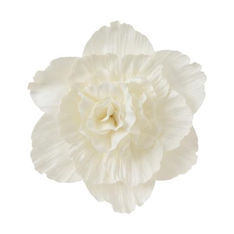 WALL FLOWER PEONY MEDIUM WHITE