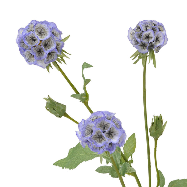 ARTFLOWER SCABIOSA FANTASY PURPLE