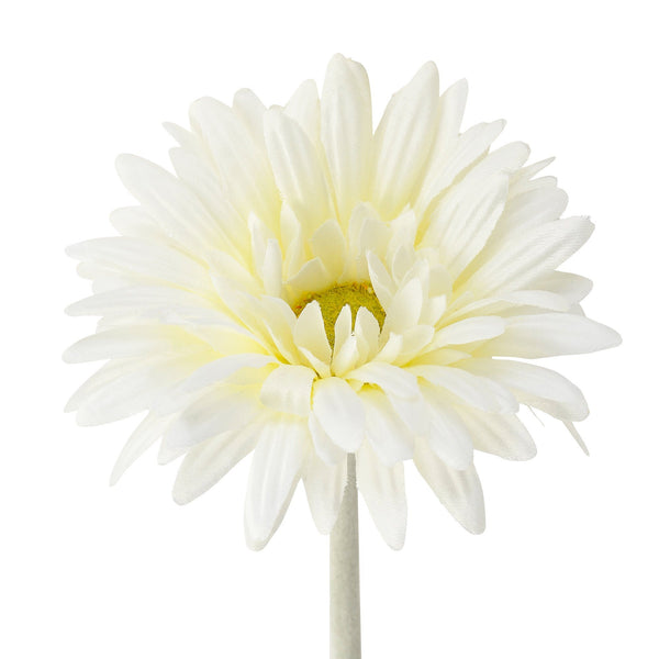 ART FLOWER GERBERA WHITE
