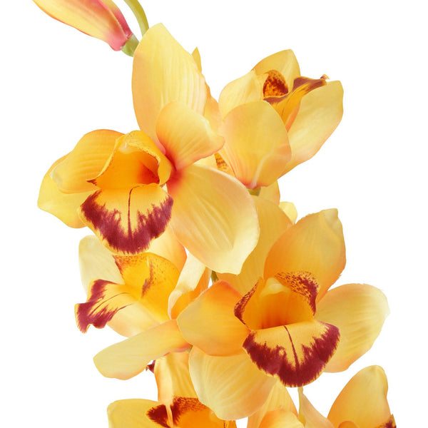 ARTFLOWER CYMBIDIUM Orange