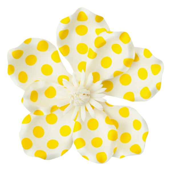 WALL FLOWER MAGNOLIA DOT SMALL YELLOW