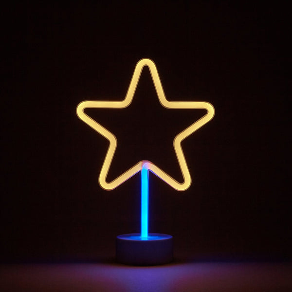 NEON LIGHT OBJET STAR