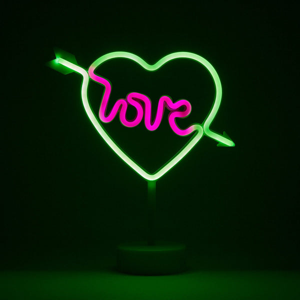 NEON LIGHT OBJET LOVE