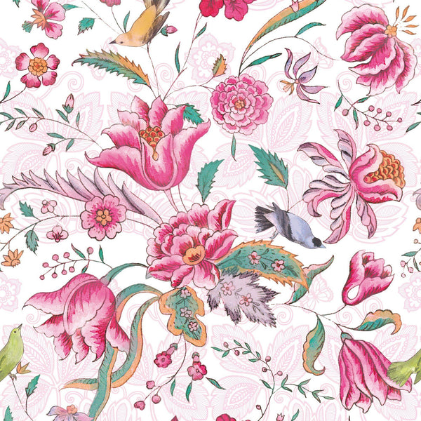 REMOVABLE WALL PAPER MEILI Pink