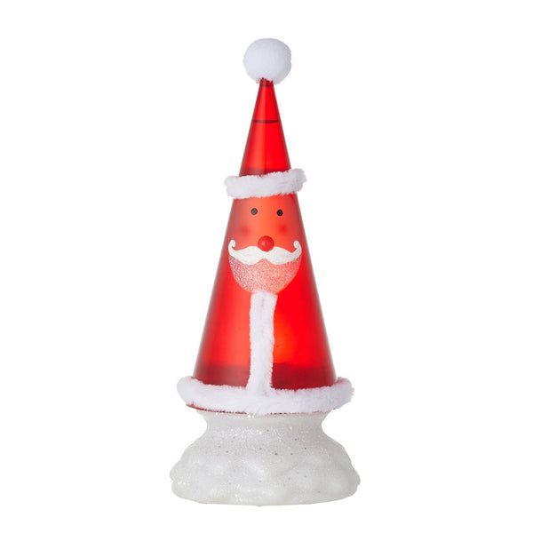 XMAS WATERTREE SANTA