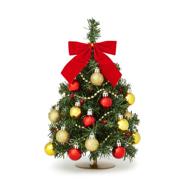 XMAS DESKTOP SET TREE Small Green