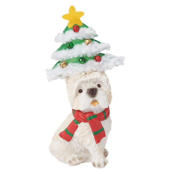 RESIN OBJET PARTY DOG TREE