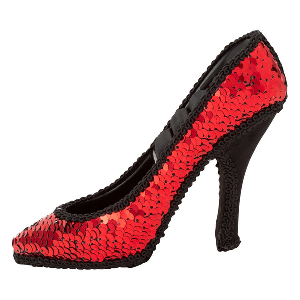 JULIE RING PILLOW HEEL Red