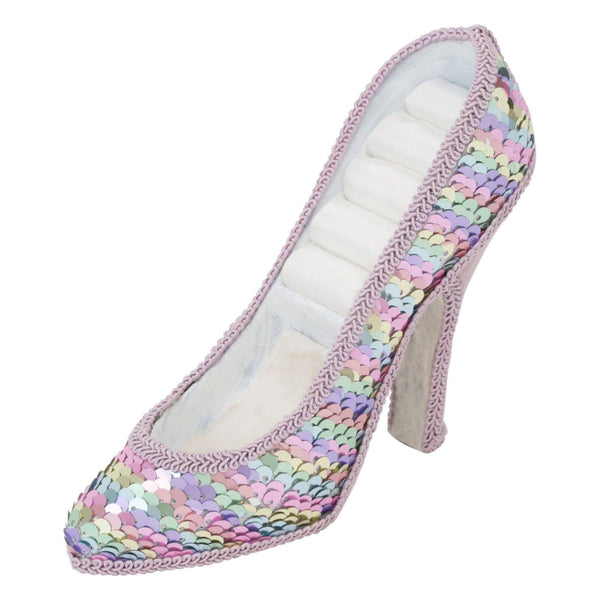 JULIE RING PILLOW HEEL PURPLE