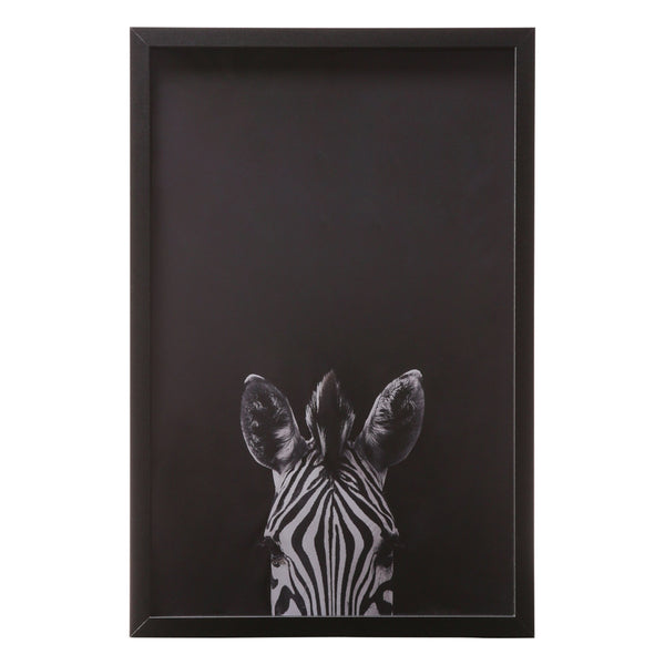 ART BOARD Looking Zebra