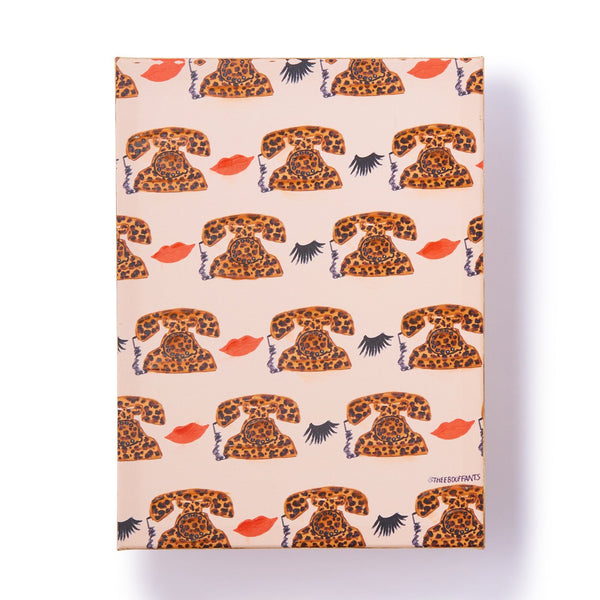 BBH ART LEOPARD PHONE PATTERN