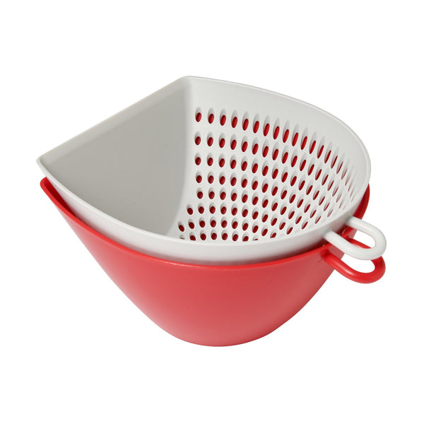 STRAINER & BOWL RED