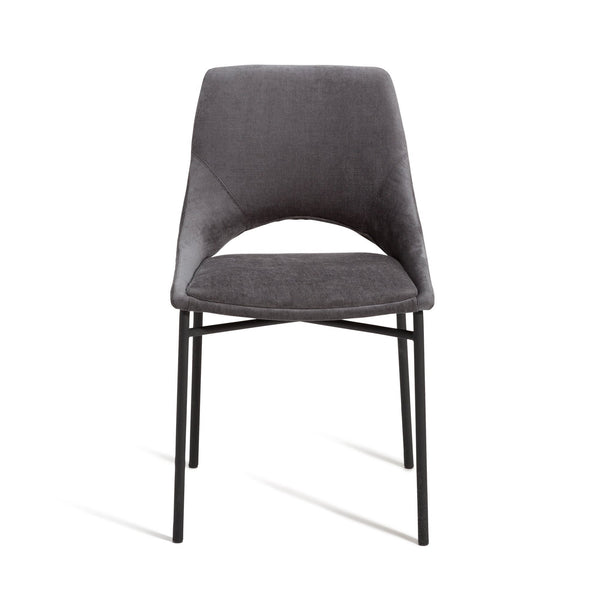 ABILE CHAIR GRAY (W470 × D550 × H795)