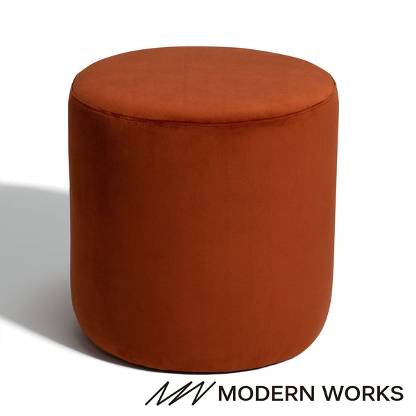 TELA Stool Orange (W460×D460×H480)