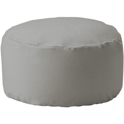 REPOSER BEADS OTTOMAN COVER AND NUDE GRAY (A)