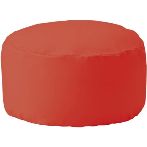 REPOSER Beads Ottoman Cover and Nude Red (A)