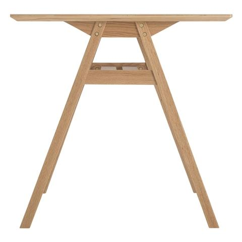 STARK DINING TABLE 150 LIGHT GRAY (A) (W1500 × D750 × H730)