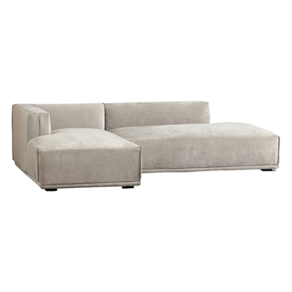 MEHNE Couch LEFT LIGHT GRAY