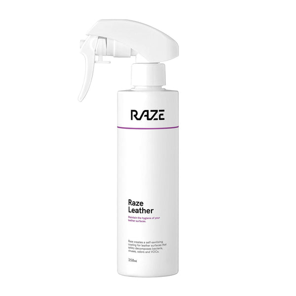 Raze coating Leather