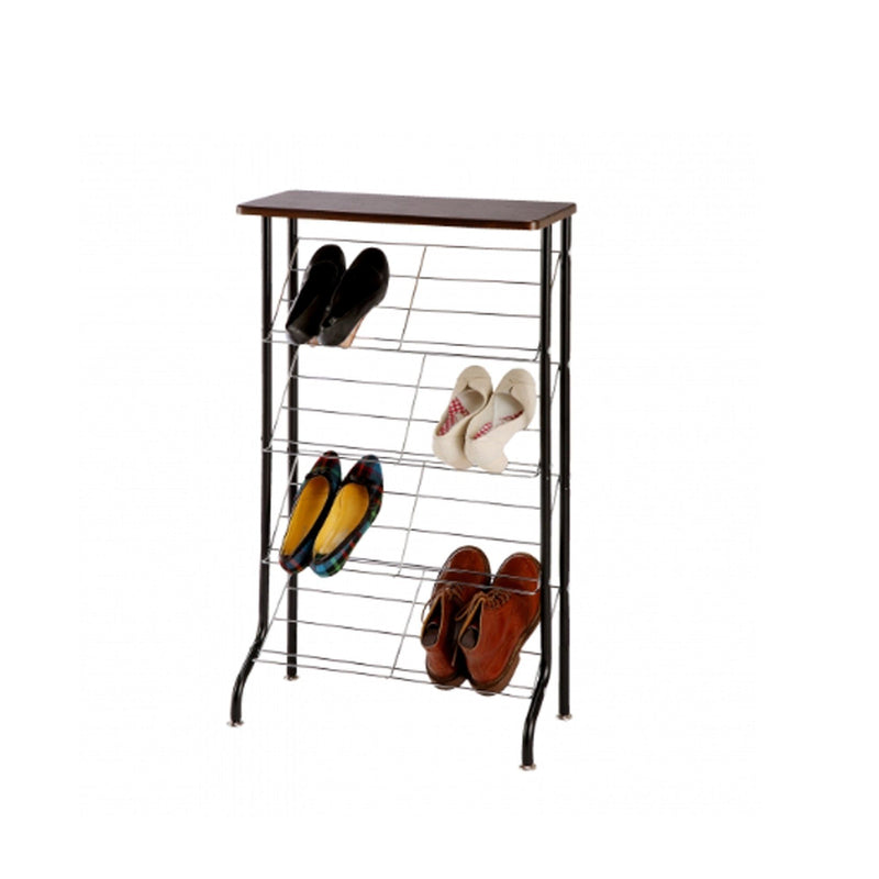 SMART SHOE RACK Black (W555×D270×H975)