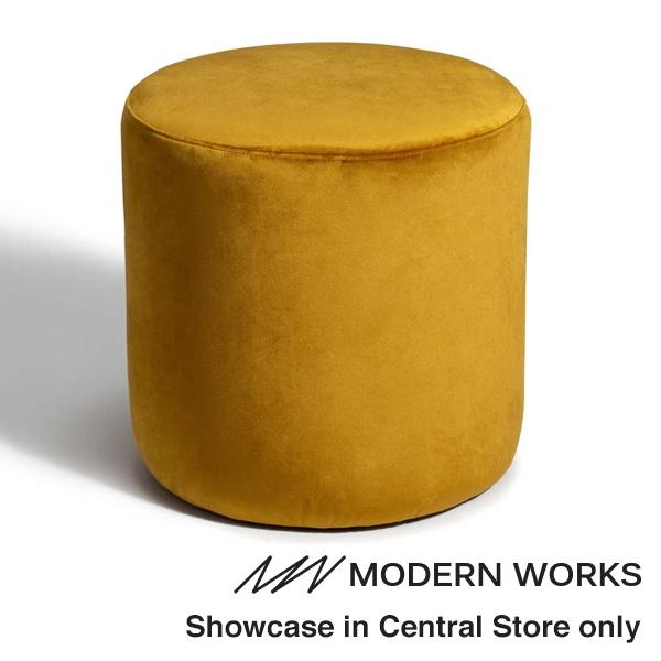 TELA STOOL Yellow (W460 x D460 x H480)