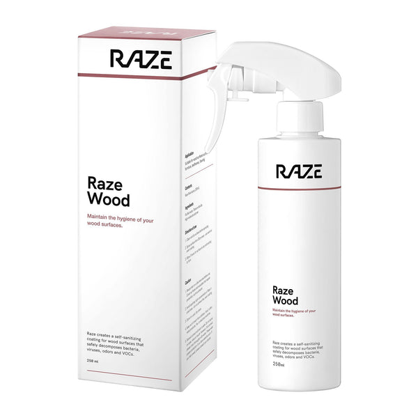 Raze coating Wood