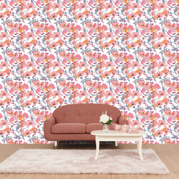 REMOVABLE WALL PAPER FLORESIA