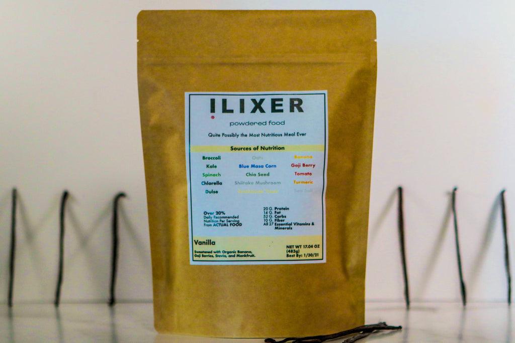 ilixer Powder - Vanilla