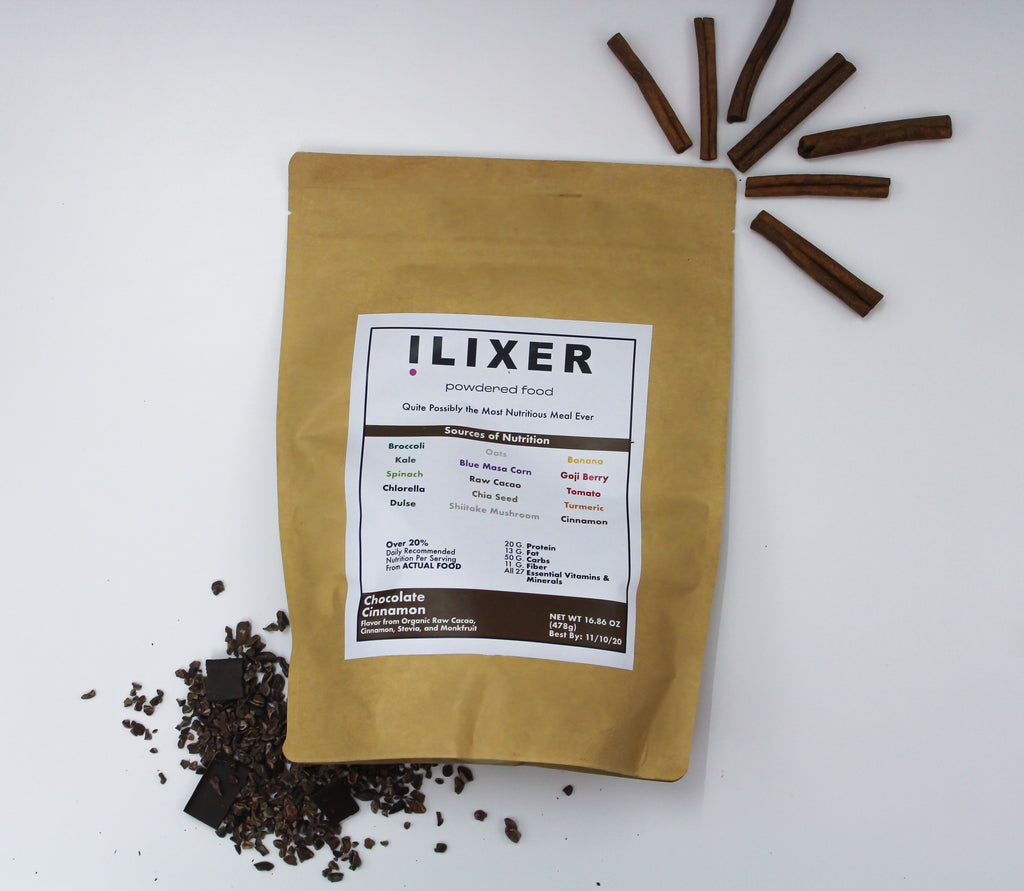 ilixer Powder - Chocolate Cinnamon