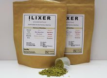 Load image into Gallery viewer, ilixer nutritionally complete vanilla meal replacement pouch with powder scooper