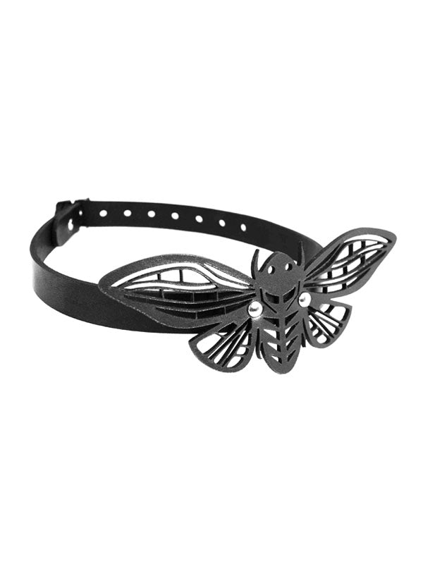 Moon Moth Choker Necklace