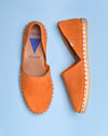 Carol Woven Leather Open Toe d'Orsay Espadrilles - Brown