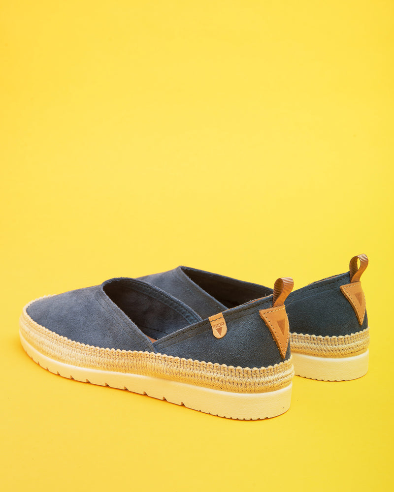 Nicole Suede flat - Jeans