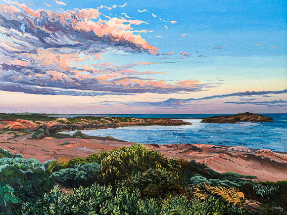 From Thunder Point Fine Art Print Australian Landscape Giclee Warrnambool Victoria Coast coastal