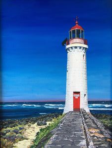 Port Fairy Lighthouse - acrylic