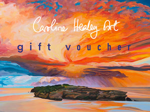 Caroline Healey Art Gift Voucher