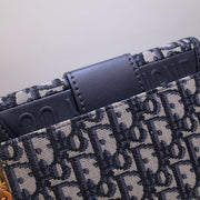 30 Montaigne Jacquard Canvas Box Bag