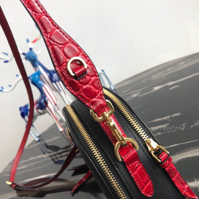 Odette Saffiano and Crocodile Bag
