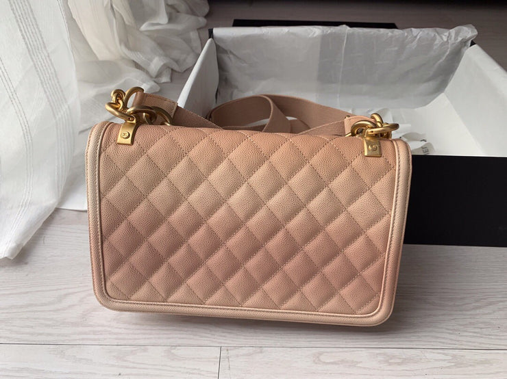 Ombré Flap Bag
